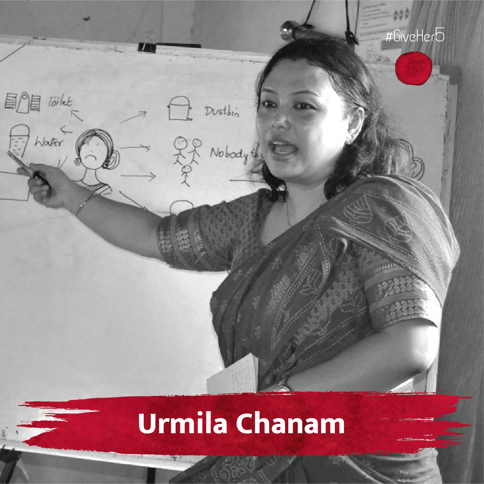 Urmila Chanam GiveHer5